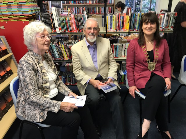 Launching the Writeaway Anthology in Dundrum Library