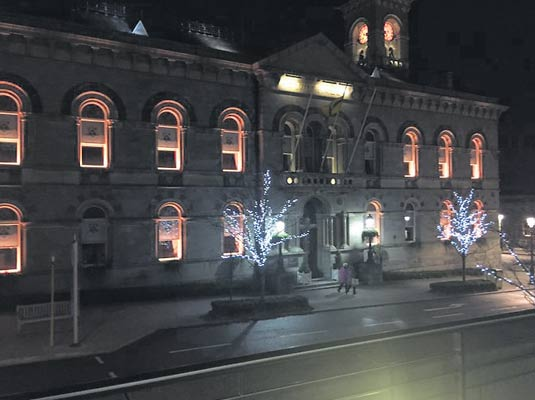 County Hall Lights Up To End Gender-Based Violence